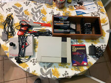 Nintendo NES Console Video Game System Complete Plus 4 Games