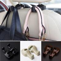 2pcs Vehicle Universal Car Back Seat Headrest Hanger Holder Hook for Bag Purse
