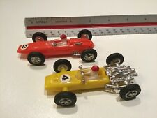 1970s  Indi 500 Race Cars Ferrari #681 & Honda #683