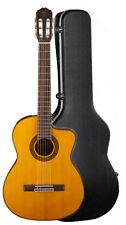 Takamine G Series GC5CE-NAT Acoustic-Electric Classical Guitar Bundle w/Har
