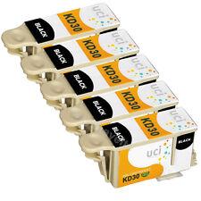 5 Kodak 30 XL Black Ink Cartridge for ESP C315 C310 C110 C115 Hero