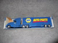 Vintage Napa Auto Parts Truck Tractor Trailer Blue Sealed to Box Nylint Toys