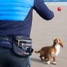 bogg bumbag - Dog walking waist bag - Poop bag dispenser & waste carrier - Grey