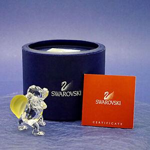"Swarovski Crystal Young Gorilla with Bananas 273394 - 6cm/2.4"" High BOX & CERT."