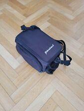 Gepäckträgertasche ausklappbare Seitentaschen Klettverschlüsse Schwarz Haberland
