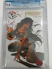 Witchblade #100 CGC Universal Grade 9.8 White Pages GOLD Foil Top Cow Production