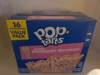 STRAWBERRY MILKSHAKE POPTARTS RARE LIMITED EDITION VALUE PACK