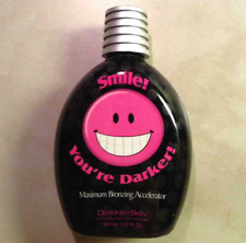 Designer Skin Smile You're Darker Maximum Bronzing Tanning Bed Lotion Youre 13.5