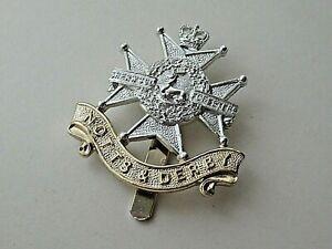 Notts & Derby Regiment Staybrite Cap Badge