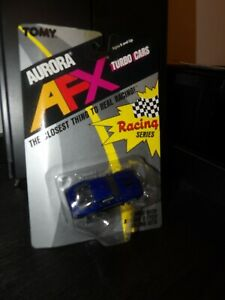 TOMY AURORA AFX BLUE PURPLE STREET CAMARO Z28 #8735 SLOT CAR NEW OLD STOCK 1989