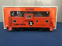 Lionel Illinois Central Extended Vision Smoking & Illuminated Caboose 6-27663