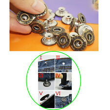 """50pcs Replacement suspender buttons For Mens Bachelor Buttons 0.67"""",NO-SEWING"""