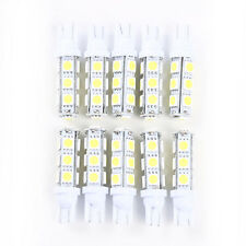 10pcs Super White T10 Camper 13-SMD 5050 Car Interior LED Light Bulbs US