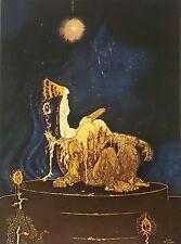 Kay Nielsen 1975 Vintage Art Print Art Deco Fairy Tale Book Plate Lithograph