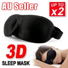 3D Sleeping Eye Mask Blindfold Sleep Travel Shade Relax Cover Light Blinder