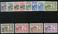 Mint Hinged George VI (1936-1952) Era Tristanian Stamps