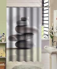 Zen apilados guijarros Pila de 5 piedras Baño Cortina de ducha 180cm X 180cm