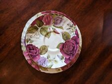 Vtg Duchess Fine Bone China Saucer And Dessert Plate