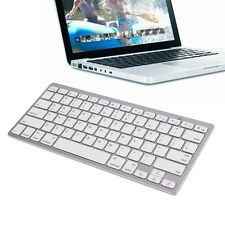 Ultra Slim Bluetooth Wireless Keyboard Apple iPad iPhone Android Mac Windows