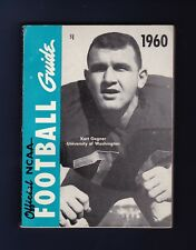 1960 Official NCAA Football Guide with Kurt Gegner pictured on cover
