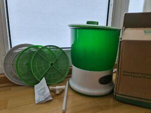 Automatische Sprossenbox Keimsaat Keimgerät Sprossen selber ziehen Maschine