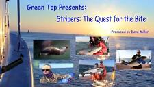 Stripers:  The Quest for the Bite DVD (2014) - Striped Bass, Trolling, Live Bait