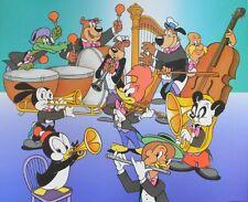 Walter Lantz Woody Woodpecker-The Big Band póster imagen son impresiones artísticas 51,5x65,5cm