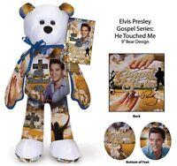 Elvis Presley He Touched Me Bear  SALE Making room for new Elvis bear Series
