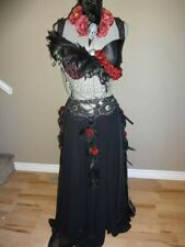 Gothic Belly Dance Dress Plus Size