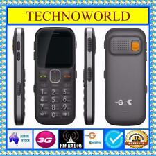 UNLOCKED TELSTRA EASYCALL 3 ZTE T303+3G+BLUE TICK+BIG BUTTON+EASY TO USE MOBILE