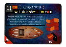 Pirates Of Davy Jones' Curse, #069, 3 Mast Spanish Ship, El Cervantes