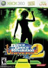Dance Dance Revolution: Universe 2 (Microsoft Xbox 360) *NO MANUAL*