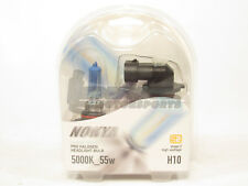 Nokya H10 Cosmic White Headlight Pro Halogen Light Bulbs Twin Pack 5000K NEW