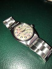 rolex 6420 pearl diamond dial 30mm mint No reserve