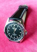 PANTON KLASSIK 600 - Armbanduhr Uhr - Lederarmband Herrenuhr Quarz Wasserdicht
