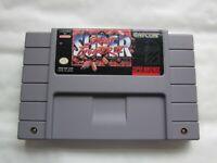 SUPER STREET FIGHTER II SUPER NINTENDO / SNES NTSC-U/C GAME