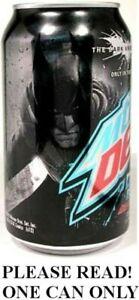 Mountain Dew Dark Knight Rises Dark Berry Batman 2012 FULL NEW Pepsi USA Ltd Ed