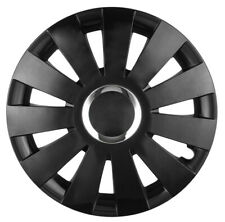 "4x14"" Wheel trims wheel covers for Peugeot 107  black 14"""