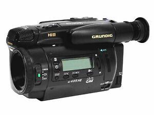 Grundig LC 485 HE Video Hi8 Camcorder - 8mm Video Camera Recorder