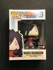 Funko Pop! Madara (Reanimation) Naruto Shippuden Gamestop Exclusive  #722