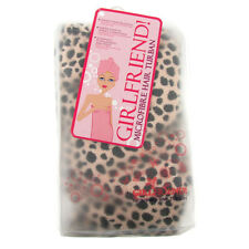 Hair Turban Towel Drying Cap Bath Quick Dry Micro Fibre Wrap Lady Leopard Print