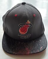 Miami Heat Mitchell & Ness NBA Hardwood Classics Adjustable Snapback Hat Cap OS
