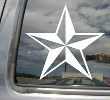 Nautical Star - Skater Surfer - Car Window Vinyl Die-Cut Decal Sticker 10004