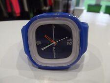 Reloj pulsera ss. com Azul Suave De Goma/silicio señoras de cuarzo analógico de cara