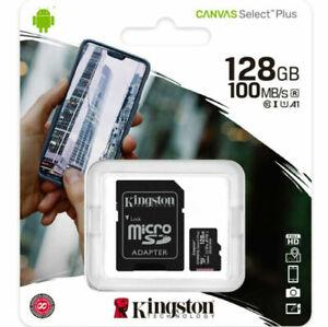 Tarjeta de memoria micro sd kingston 128gb msd csplus 100r a1 c10 + adp