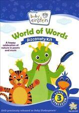 Baby Einstein: World of Words [EP] by Bill Weisbach (CD, 2 Discs, Disney)