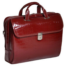 "Siamod SETTEMBRE Cherry Red 35526 Laptop Case 15"" x 3"" x 11"" NEW"