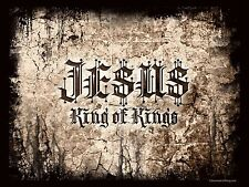 JESUS KING OF KINGS CHRISTIAN   T SHIRT IRON ON TRANSFER