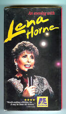EVENING WITH LENA HORNE & COUNT BASIE ORCHESTRA - NEW YORK 1994 ====VHS NEW