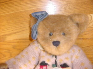 """Boyds Bears Retired 17"""" Clarissa The Archive Collection Excellent cond"""